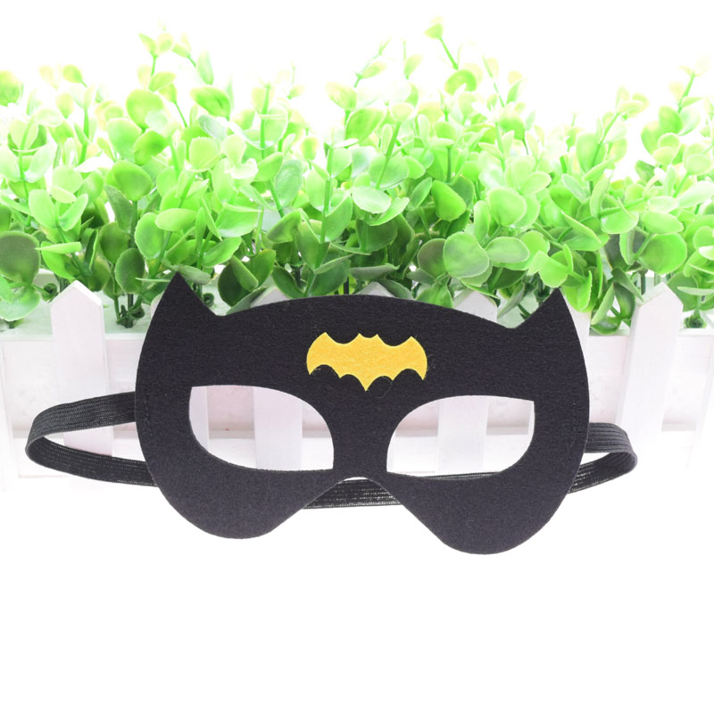 Super-héros masque Cosplay Superman Batman Spiderman Hulk Thor IronMan princesse Halloween noël enfants adulte fête Costumes masques