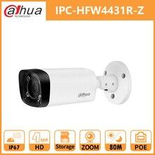 Dahua 4 МП камера ночного пули DH IPC-HFW4431R-Z 2,7-12 мм Моторизованный объектив VF 80 м IR PoE камера безопасности WDR 3DNR