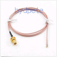 20in 20'' IPX IPEX I-PEX U.FL to RP SMA female jack RF RG178 pigtail jumper cable for WIFI Card wireless router 50cm