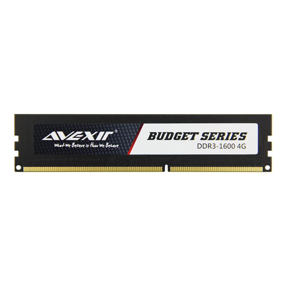 AVEXIR RAM DDR3 4GB/8GB Memory Frequency 1333/1600MHz 1.5V Desktop memory Interface Type 240pin 11-11-11-28 CL=11 Single RAMs 1