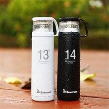 Verkauf Ein Leben Eine Liebe 1314 Liebhaber Edelstahl Isolierflasche Thermoes Tasse Portable Reisebecher Freienwasserflasche 300-500 ML
