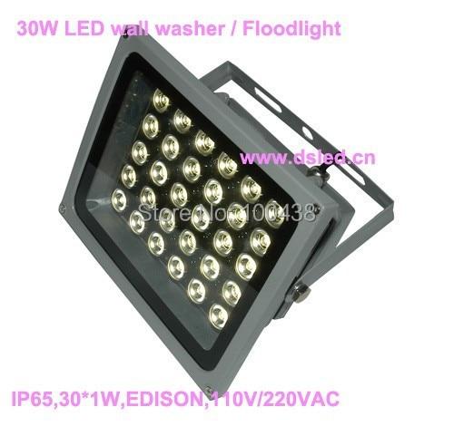 Hot sale,good quality high power 30W LED wall washer,LED floodlight,DS-TN-05-30X1W,EDISON Chip,110V/220VAC,2-year warranty hot sale good quality one year guarantee nbb8 18gm50 e2 v1