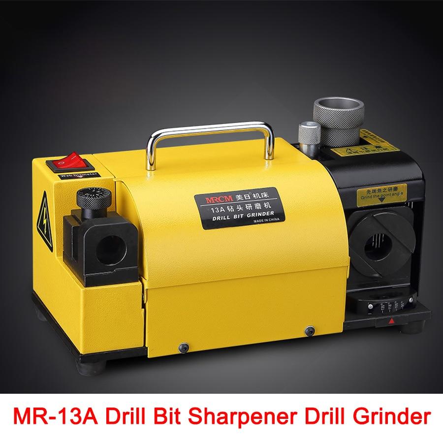 Livraison gratuite par DHL MR-13A Foret Taille-Drill Grinder Broyage Machine portable carbure outils, 2-13mm 100-135Angle forage