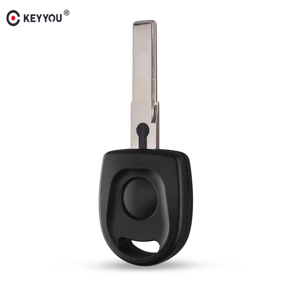 KEYYOU 20X New Arrive Blank Shell For Volkswagen (VW) B5 Passat Transponder Key (HU66) Free Shipping