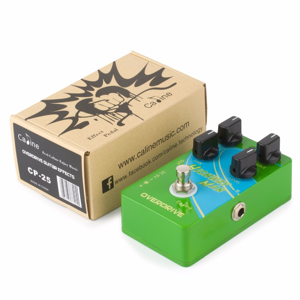 caline cp 25 overdrive od guitar effect pedal green true bypass pedals parts 2 band eq guitar. Black Bedroom Furniture Sets. Home Design Ideas