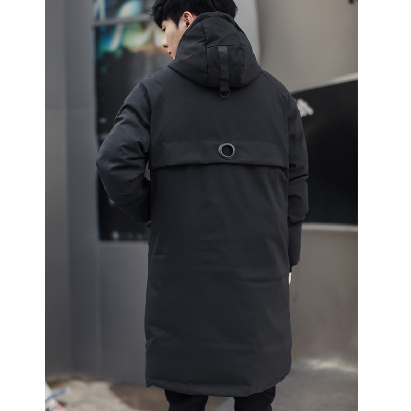 long parkas winter jacket men 2018 New warm Windproof Casual Outerwear Padded Cotton Coat Big Pockets High Quality Parkas Men in Parkas from Men 39 s Clothing