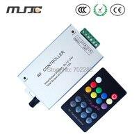 RGB LED Music Controller Audio Controller 12V 24V DC With RF 18 Keys Remote For SMD