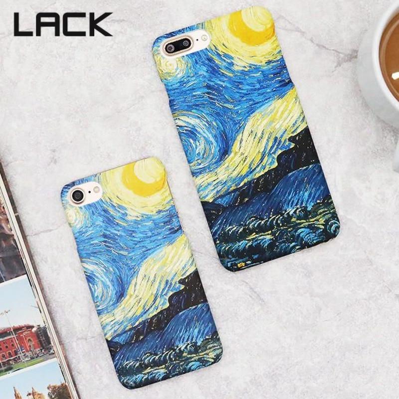 LACK Mode Abstraktionism Art Starry Sky Oljemålning Cover för - Reservdelar och tillbehör för mobiltelefoner - Foto 2
