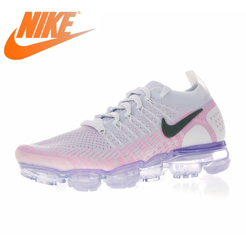 affafa7aa0c7f Original Authentic NIKE AIR VAPORMAX FLYKNIT 2 Women s Running Shoes  Outdoor Sneakers Breathable Athletic New Arrival