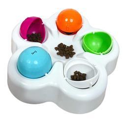 Pet Dog Puzzle Toy Cat Dog IQ Educational Toys Slow Feeding Food Bowl Anti Choke Feeder Pet Interactive Intelligent Training Toy