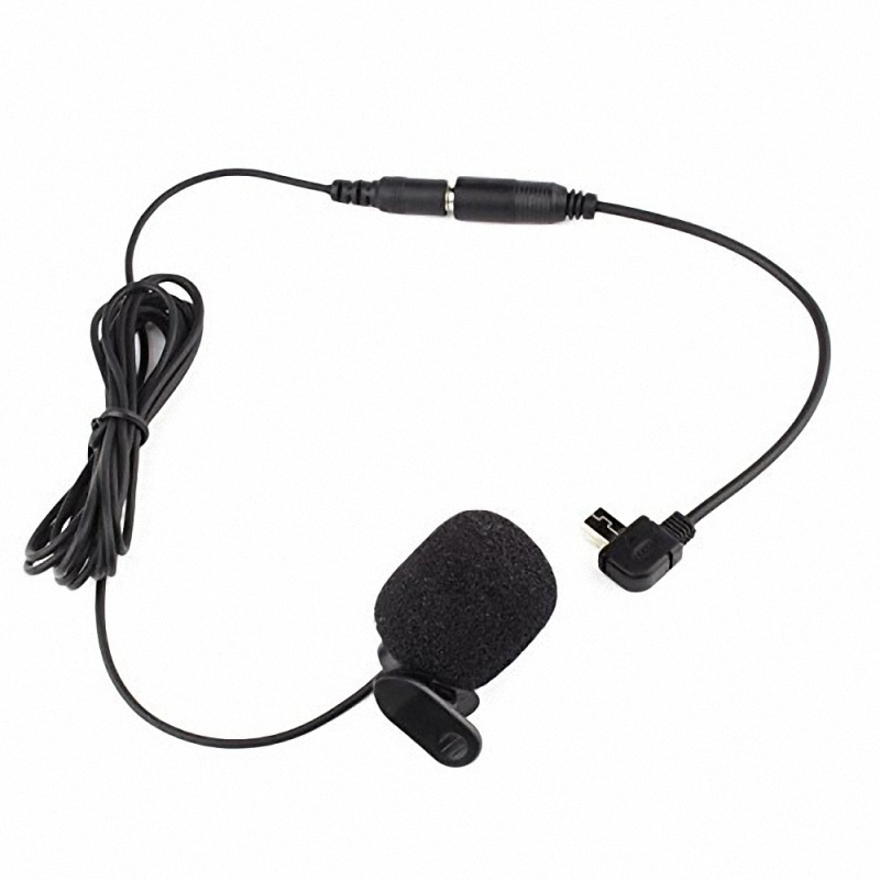 Microphone Cords Accessories : For gopro accessories microphone adapter mini usb to