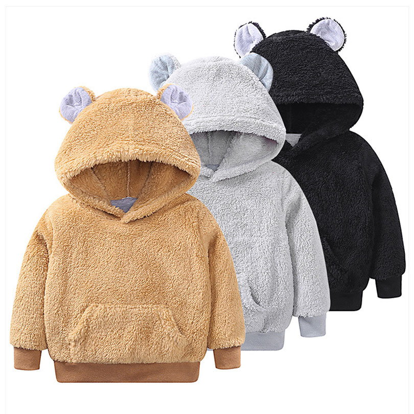 Autumn And Winter Baby Girls Hooded Sweaters Cotton Casual Pullover Kids Girls Clothes Hoodies & Sweatshirts Jumpers For Girls