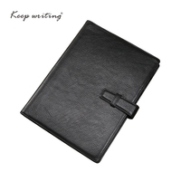 A5 Cowhide Leather NOTEBOOK 45 Sheets 100gsm Paper Lined Pages Stationery Agenda Journal Notes Real Leather