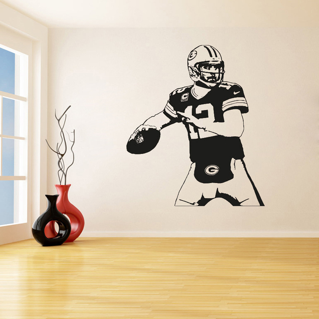 Green Bay Packers Removable Wall Stickers for Living Room ...