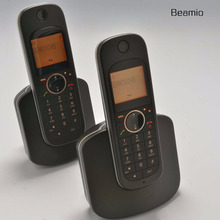 2 шт. телефонов Call ID DECT цифровой Беспроводной США Версия 2.4 г D10 цифровой беспроводной телефон для Офис черный