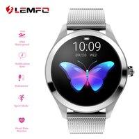 LEMFO KW10 Smart Watch Women 2018 IP68 Waterproof Heart Rate Monitoring Bluetooth For Android IOS Fitness Bracelet Smartwatch