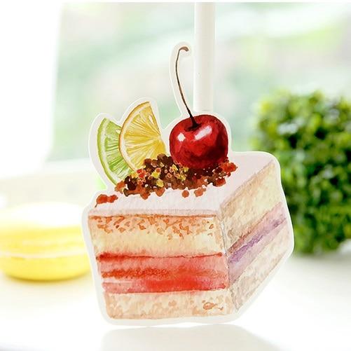 Marvelous 30Pcs Piece Of Birthday Cake Painting Style Card Multi Use As Personalised Birthday Cards Petedlily Jamesorg