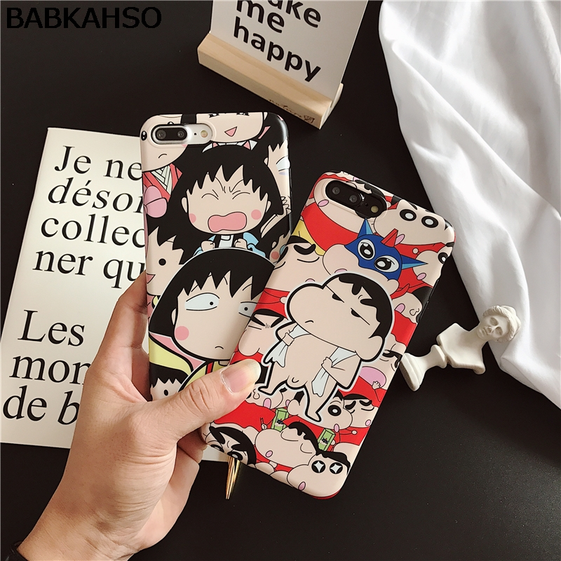BABKAHSO Small cartoon cute boys girls Case For iPhone 7 7Plus Case For iPhone 6 6S Plus 6Plus Capa Fundas Coque soft cover