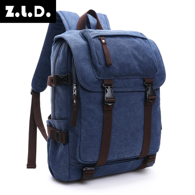 17e1d71a0f4 Free Shipping New High Quality Business Casual Fashion Women s College  Backpack Canvas Shoulder Backpack Korean Fashion Bags