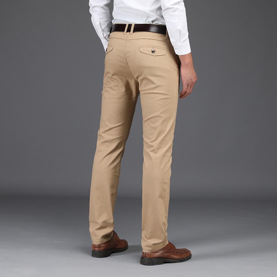 HTB1FfBCXcvrK1Rjy0Feq6ATmVXaB NIGRITY 2019 Men Pants Casual High Quality Classics Fashion Male Trousers Business Formal Full Length Mens Pants