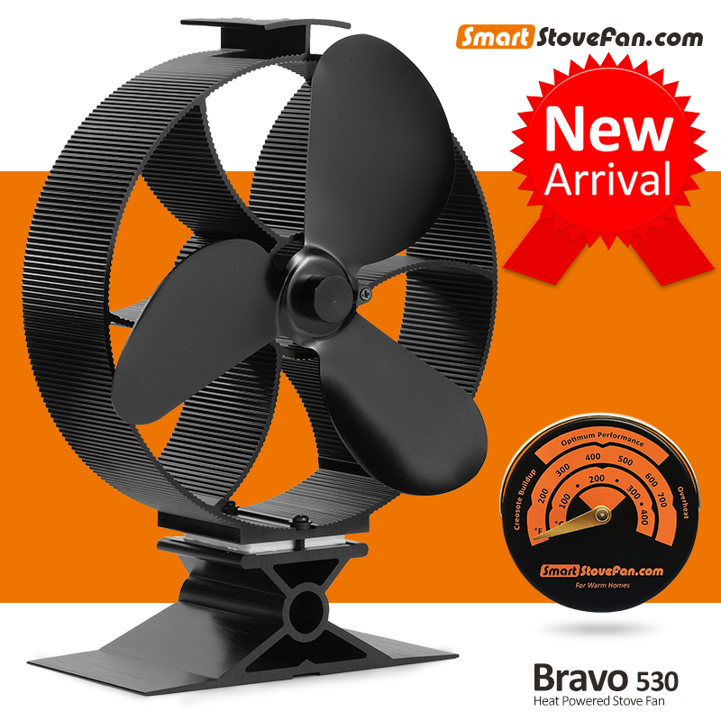 2017 New Heat Powered Stove Fan Circulate Heat 300 Cubic Feet / Minute Eco  fan Wood Stove Fan with Stove Thermometer - Online Get Cheap Eco Fan -Aliexpress.com Alibaba Group