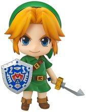 NEW ANIME Good Smile The Legend of Zelda Majora's Mask 3D Link Nendoroid Action Figure