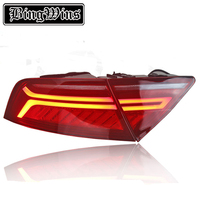 BINGWINS Car Styling For Audi A7 Tail Lights 2011 2017 LED Tail Light Rear Lamp Moving