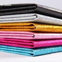 Width137cm * 1 m/sztuk Glitter PU Faux skóry tkaniny Do Szycia skóry Syntetycznej Sztuczna Jasne miękkie skórzane Domu Diy skóra
