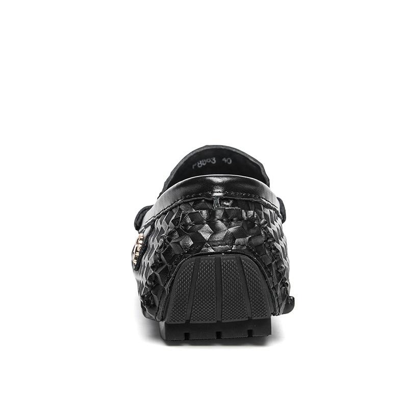 Nouveau Black De blanc Hombre Mode Designer 2018 bleu Hommes Conduite Mocasines Appartements En Blanc Chaussures Mocassins Agsan Cuir Véritable Noir wTPIRqx1