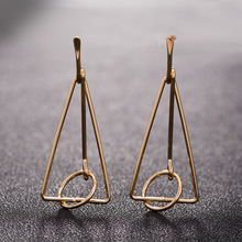 Creative Long Statement Earrings Geometric Retro Exaggerated Dangle Drop For Women Earings Oorbellen Brinco