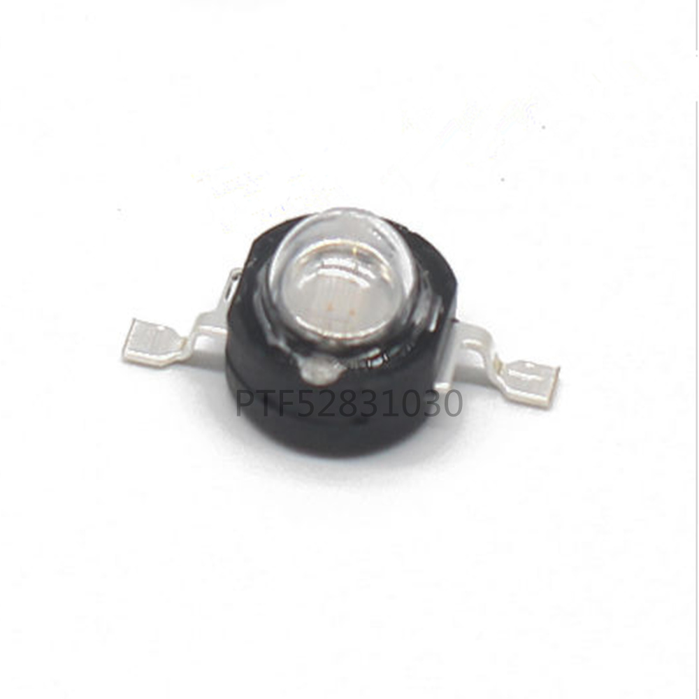 3W High Power UV ultraviolet 365nm 380nm 395nm black LED Lamp Light