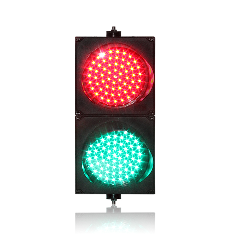 DC12V Factory Direct Price 200mm PC Housing Parking Lots Signal Light  Red Green LED Traffic Signal Light On Sale