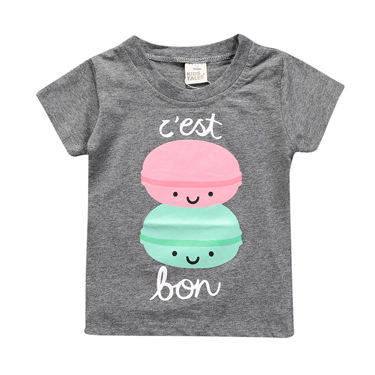 Ubetoku baby cotton T shirts children tees boy girls summer tshirt kids clothes short sleeve T-shirt Kids cute Tops