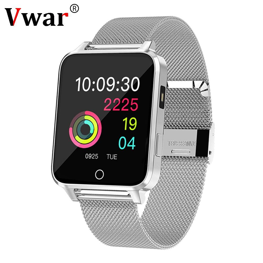 Vwar X99 Full Touch Screen Smart Watch IP68 Waterproof Swimming Smartwatch Heart Rate Monitor for Xiaomi