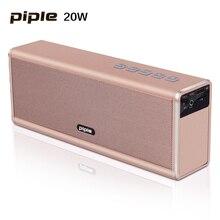 20W  Piple S5 Speaker Power Bank Portable Mini Bluetooth Speaker 4000mah Rechargeable Battery Wireless Loud speaker
