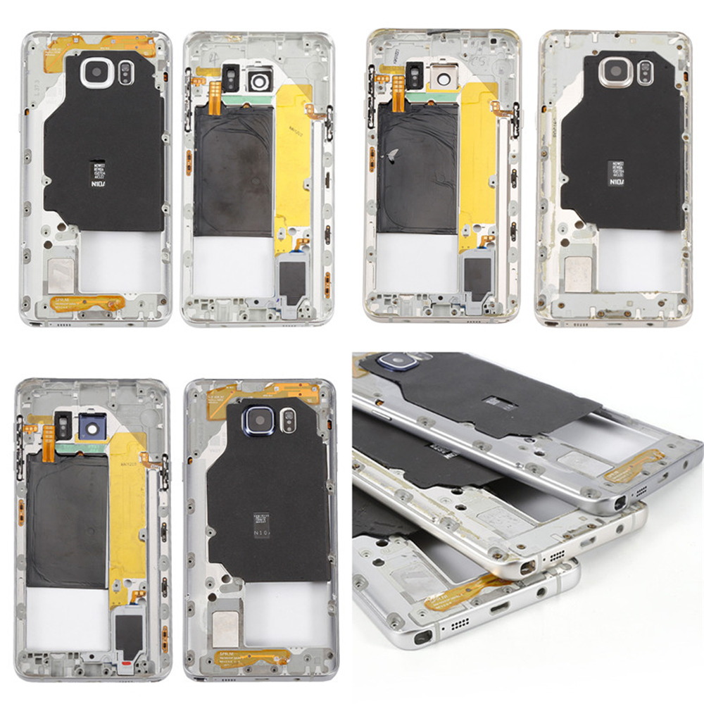 Middle Frame Bezel Housing Plate Cover Case For Samsung Galaxy Note 5 N920F/N920T/N920A/N920P/N920V