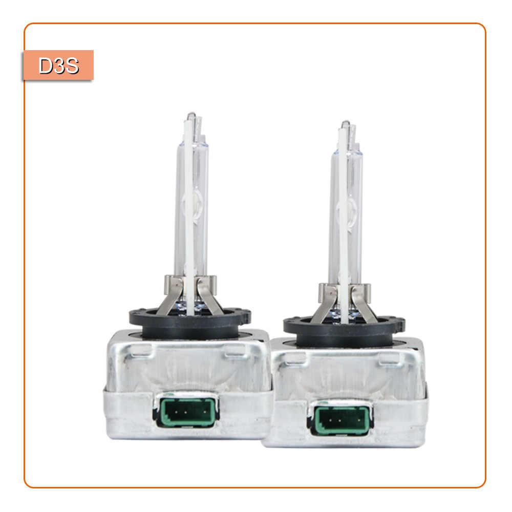 1 пара ксеноновых ламп D1S D2S D3S D1R D2R D3R HID 4300k 5000k 6000k 8000k с металлическим основанием, ксеноновый головной светильник, лампа, автомобильный налобный светильник