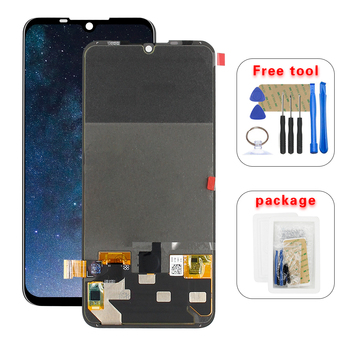 For Motorola Moto Z4 Play XT1980-3 LCD Screen Touch Digitizer Assembly Replacement Free Tools