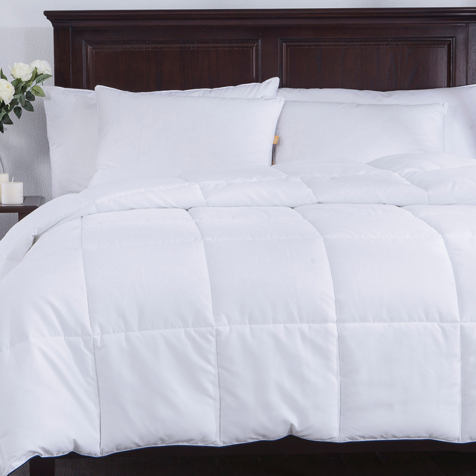 Puredown Winter Comforter High Quality Futon King Full Twin Size Cotton S White Solid Quilts Pd 16026 In Comforters Duvets From