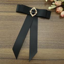 Я-Remiel ленты лук галстук для Для женщин женский костюм Школьная Униформа Галстуки британский стиль платье-рубашка блузка Одежда с