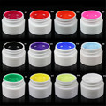 H Sale12 Solid/MIX Color UV Gel Acrylic Glitter Builder Tips Set Powder Nail Art  Nail Gel Nagel unha Gel de unas 20 Dropship