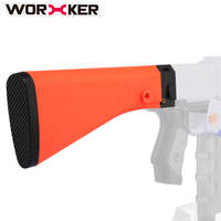 WORKER M16 ABS Shoulder Stock Tail Stock For Nerf N Strike And Modulus Series