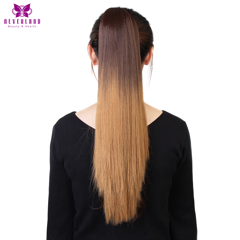 Neverland 20 50cm Straight Claw On Ponytail Heat Resistant 627