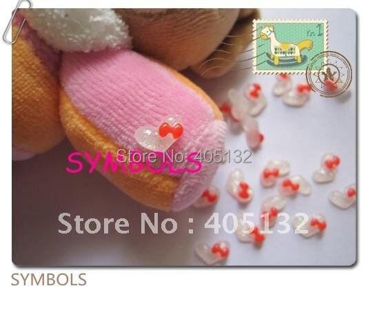 Rc-8-1 200 шт./пакет красный лук Смола Блеск он Книги по искусству Дизайн ногтей украшение мобильного телефона украшения