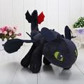 33 см Как Приручить Дракона Беззубый дракон игрушки Ночь Fury Плюшевые Игрушки Мягкие Игрушки куклы