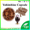 Top Quality Yohimbine hcl 8%-98% Yohimbe Bark Extract,Yohimbe capsule 500mg*700pcs
