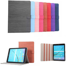 """DS  Vintage wood pattern For Cover Samsung Galaxy Tab S2 9.7"""" SM-T810 T815 T813 T819C PU Leather Case with Stand  Function"""