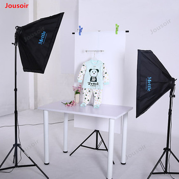 Studio softbox Set portrait photographic lamp camera video photo Fill light clothing children shooting continuous lights CD50T03