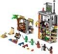79103 tortuga guarida ataque bela building blocks set diy juguetes educativos para niños figuras compatible legoinglys