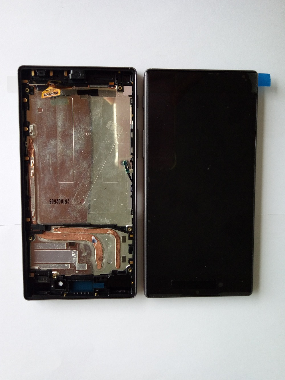LCD With Frame Assembly For Sony For Xperia Z5 E6603 E6653 screen White / Black Free Shipping